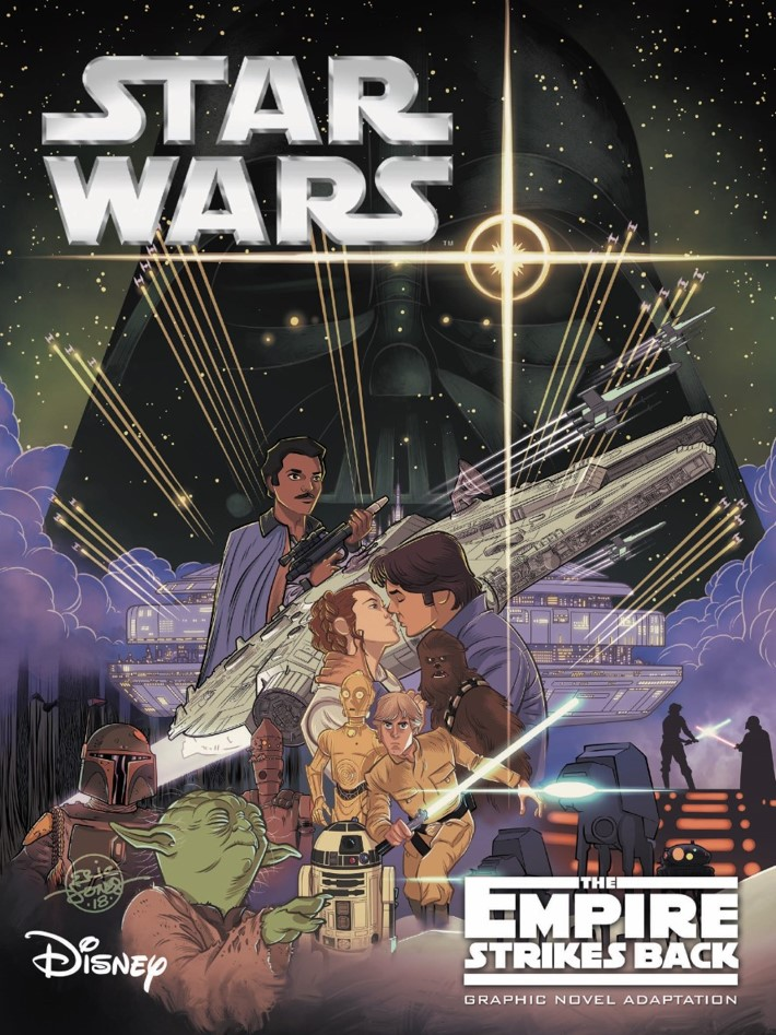 Star_wars_Empire_Strikes_Back_Graphic_Novel-pr-1 ComicList Previews: STAR WARS THE EMPIRE THE STRIKES BACK GN