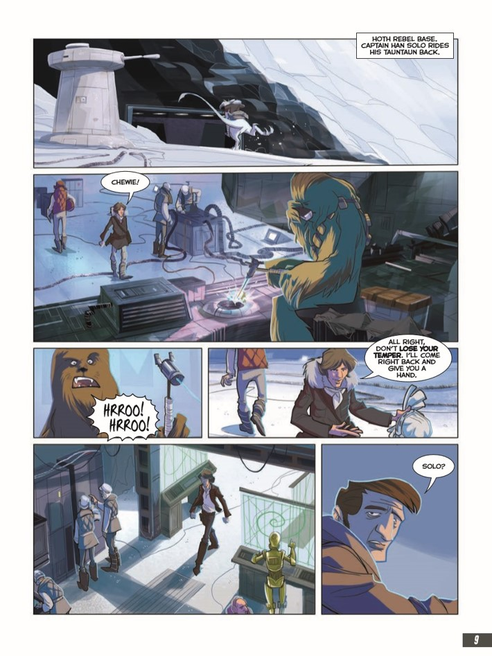 Star_wars_Empire_Strikes_Back_Graphic_Novel-pr-5 ComicList Previews: STAR WARS THE EMPIRE THE STRIKES BACK GN