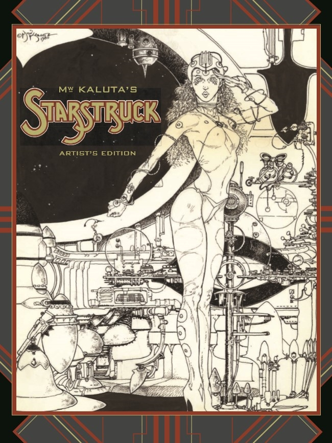Starstruck_AE-pr-1 ComicList Preview: MICHAEL WM. KALUTA'S STARSTRUCK ARTIST'S EDITION HC