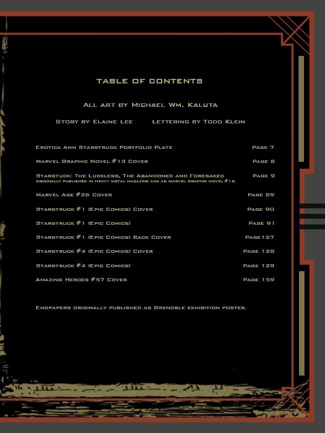Starstruck_AE-pr-2 ComicList Preview: MICHAEL WM. KALUTA'S STARSTRUCK ARTIST'S EDITION HC