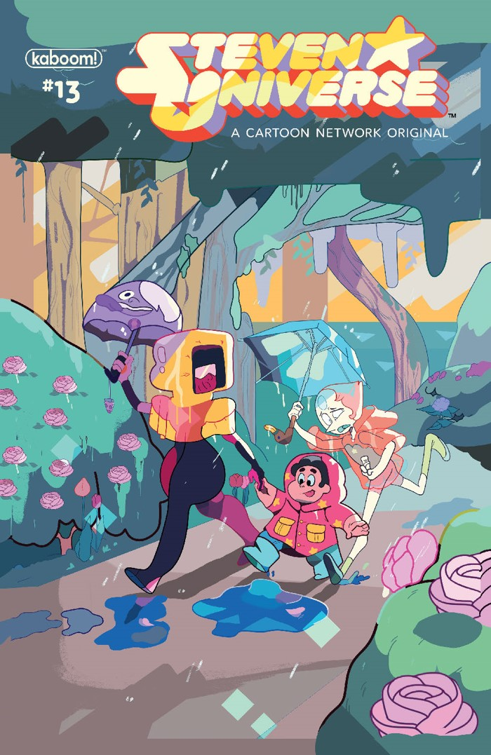 StevenUniverse2017_013_B_Subscription ComicList Previews: STEVEN UNIVERSE #13