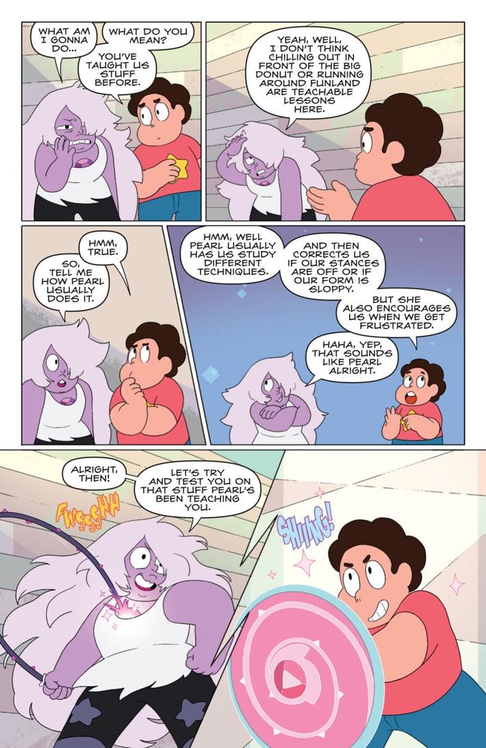 StevenUniverse2017_018_PRESS_6 ComicList Previews: STEVEN UNIVERSE #18
