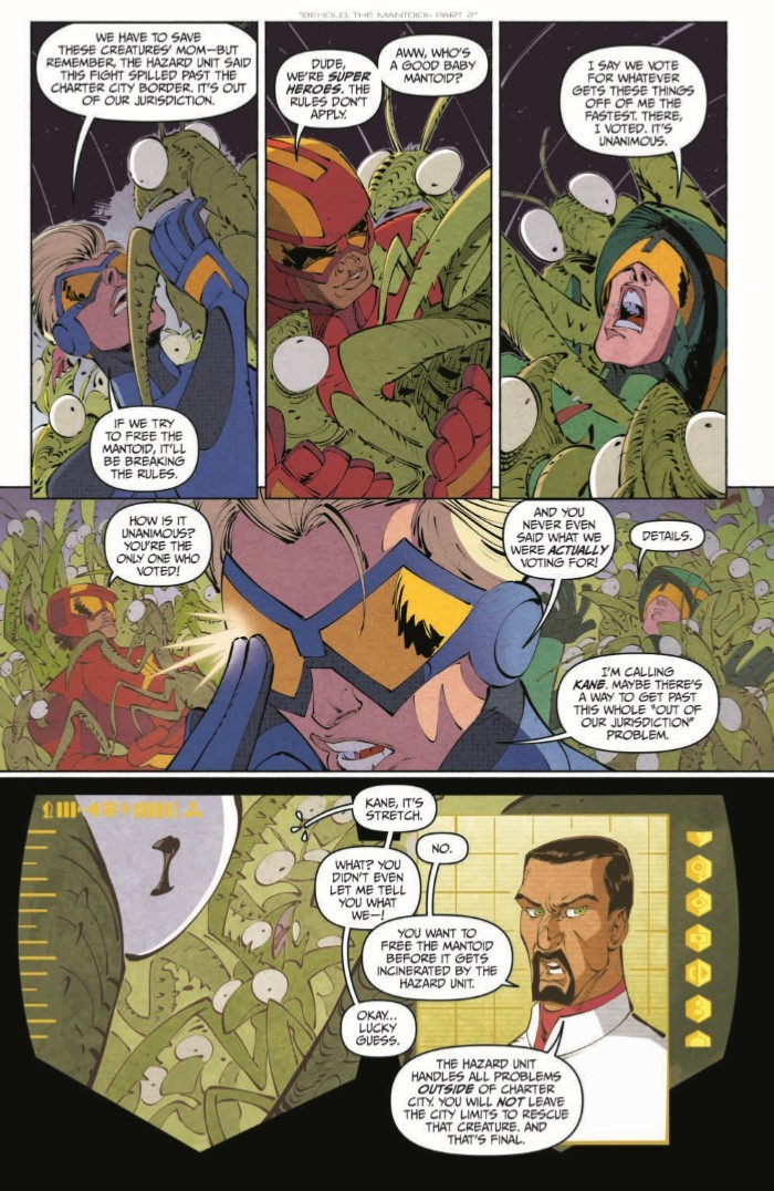 StretchArmstrong_02-pr-7 ComicList Previews: STRETCH ARMSTRONG AND THE FLEX FIGHTERS #2