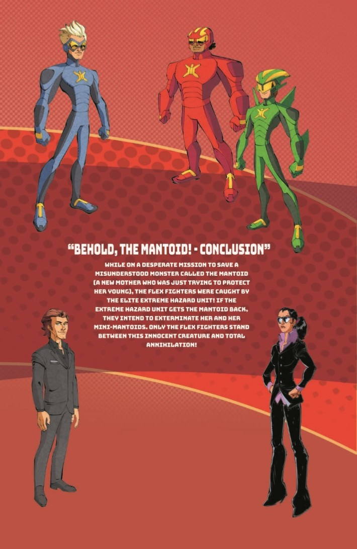 StretchArmstrong_03-pr-6 ComicList Previews: STRETCH ARMSTRONG AND THE FLEX FIGHTERS #3