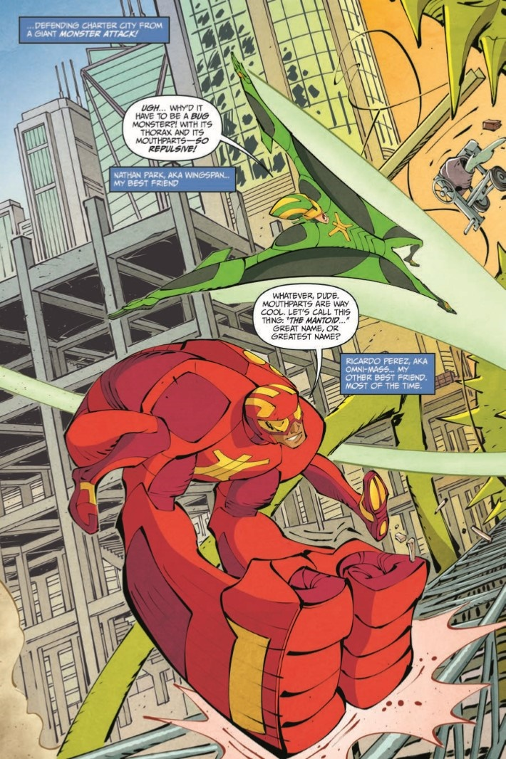 StretchArmstrong_TPB-pr-5 ComicList Previews: STRETCH ARMSTRONG AND THE FLEX FIGHTERS TP