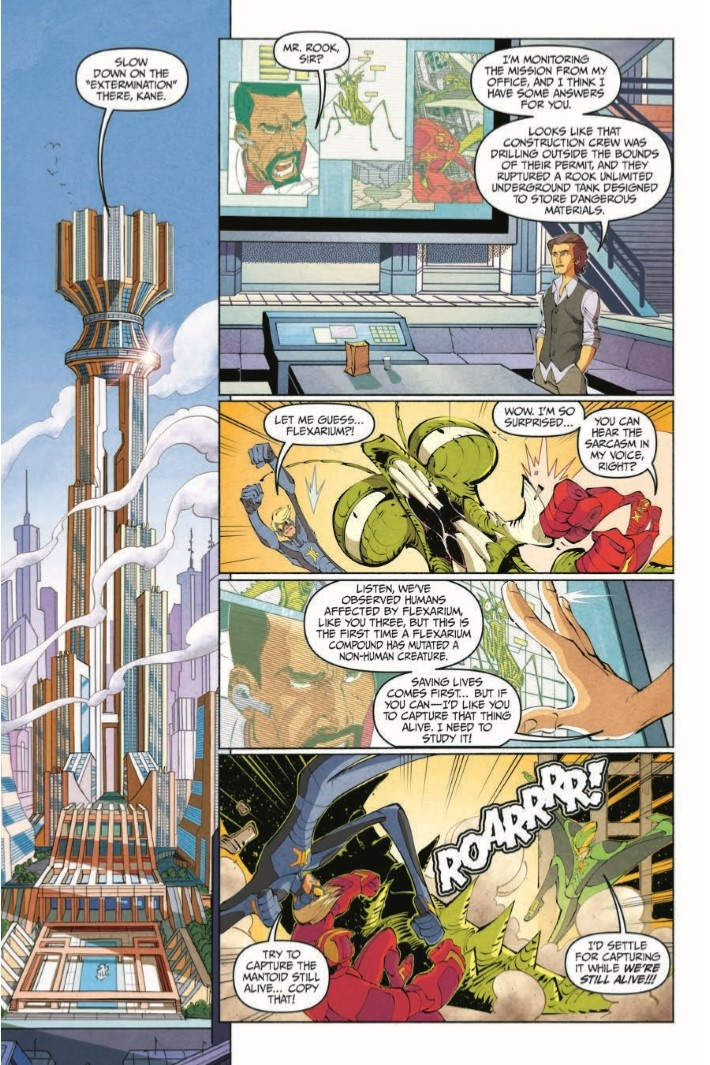 StretchArmstrong_TPB-pr-8 ComicList Previews: STRETCH ARMSTRONG AND THE FLEX FIGHTERS TP