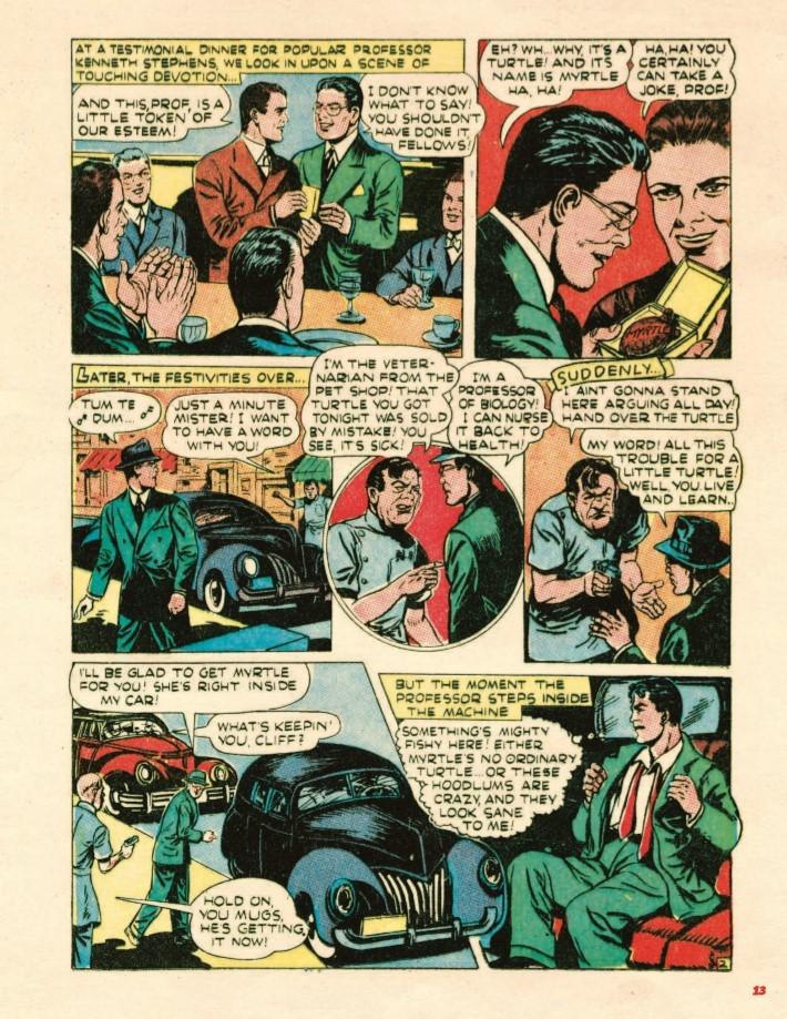 Super_Weird_Heroes_Preposterous_But_True-pr-4 ComicList Previews: SUPER WEIRD HEROES VOLUME 2 PREPOSTEROUS BUT TRUE HC