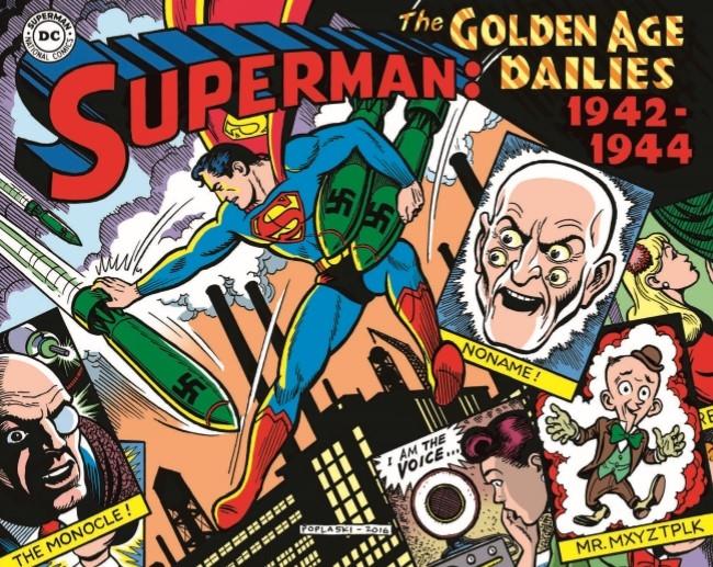 Superman_GolDailies1942-pr-1 ComicList Preview: SUPERMAN THE GOLDEN AGE NEWSPAPER DAILIES 1942-1944 HC