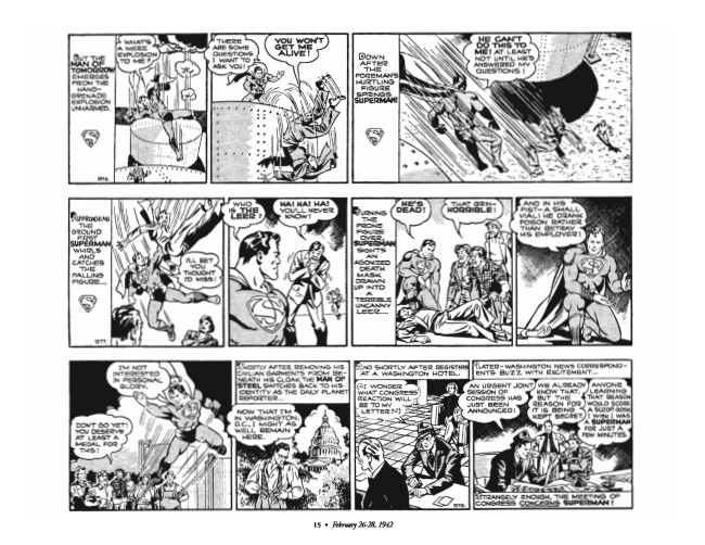 Superman_GolDailies1942-pr-6 ComicList Preview: SUPERMAN THE GOLDEN AGE NEWSPAPER DAILIES 1942-1944 HC