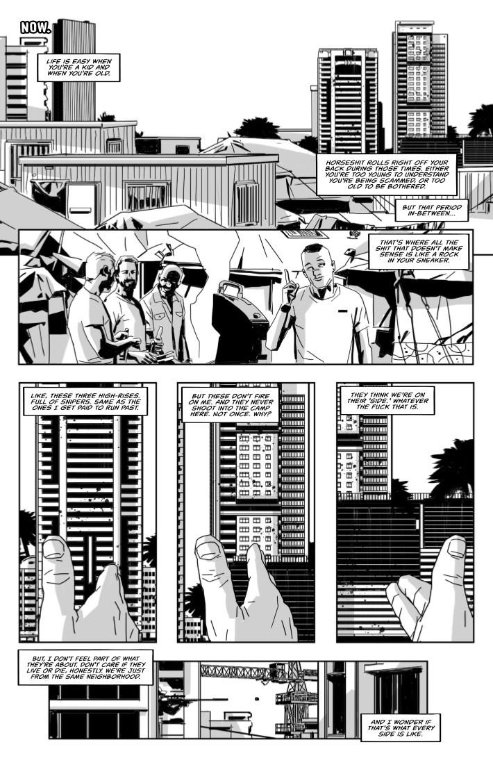 SurvivalFetish-02-04 ComicList Previews: SURVIVAL FETISH #2