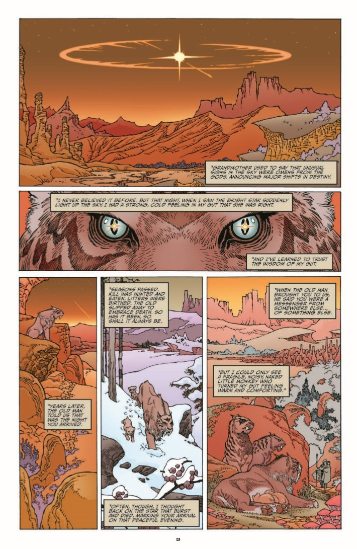 Sword_Of_Ages_HC-pr-6 ComicList Previews: SWORD OF AGES HC