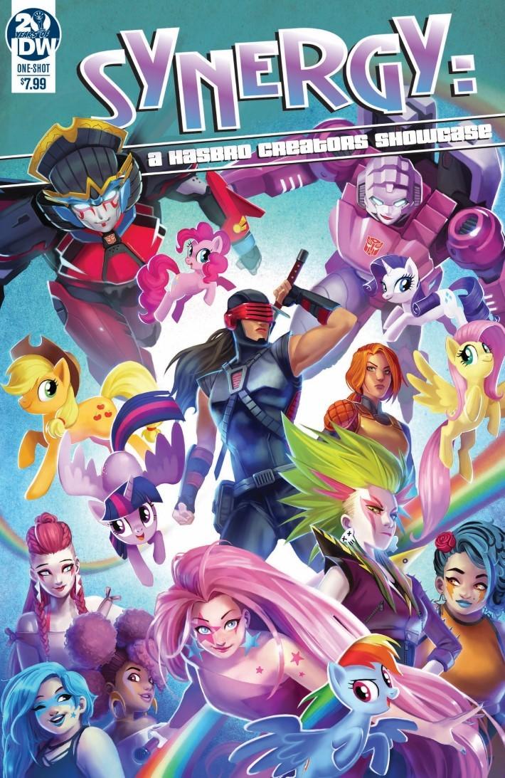 Synergy_Hasbro_Creators_Showcase-pr-1 ComicList Previews: SYNERGY A HASBRO CREATORS SHOWCASE #1