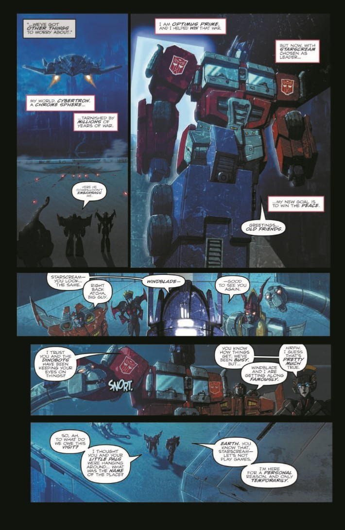 TF_RedemptionDinobots-pr-7 ComicList Previews: TRANSFORMERS REDEMPTION OF THE DINOBOTS TP