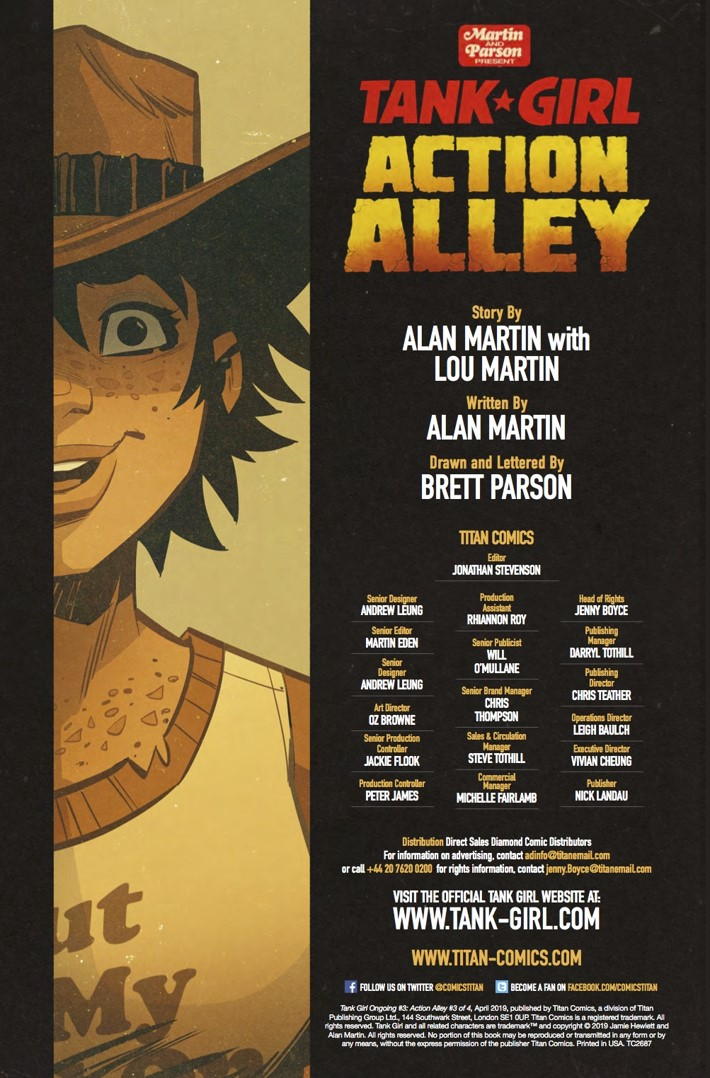 TG_Action_Alley_3_Credits ComicList Previews: TANK GIRL ACTION ALLEY #3