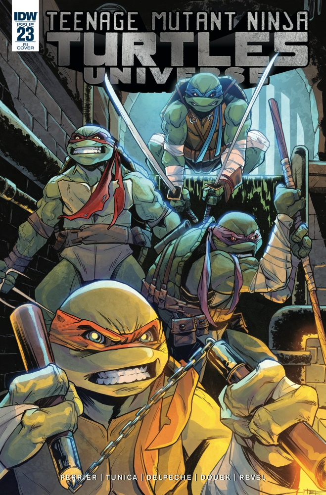 TMNT-Universe23_cvrRI ComicList Previews: TEENAGE MUTANT NINJA TURTLES UNIVERSE #23