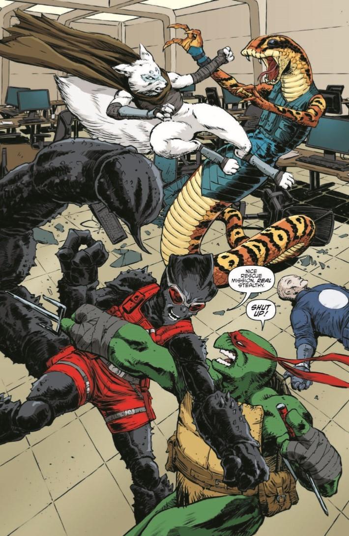 TMNTUniverse_20-pr-3 ComicList Previews: TEENAGE MUTANT NINJA TURTLES UNIVERSE #20