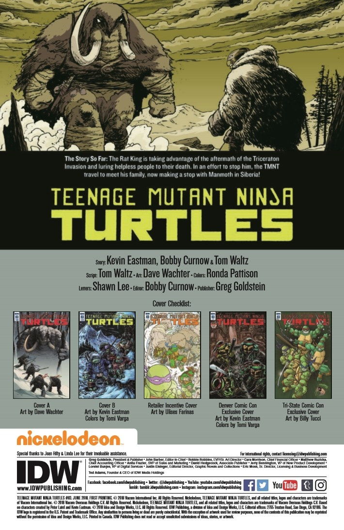 TMNT_83-pr-2 ComicList Previews: TEENAGE MUTANT NINJA TURTLES #83