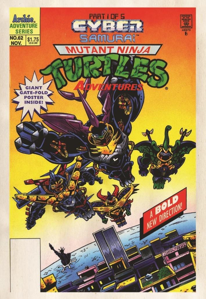 TMNT_Adventures_Vol15-pr-3 ComicList Previews: TEENAGE MUTANT NINJA TURTLES ADVENTURES VOLUME 15 TP