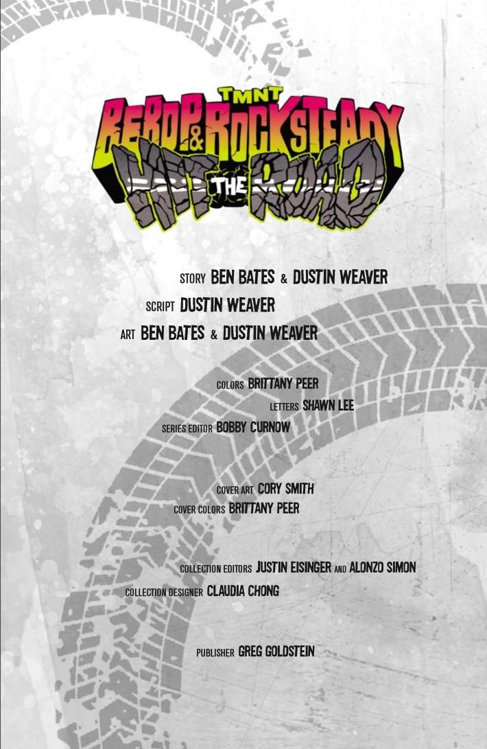TMNT_Bebop_Rocksteady_Hit_The_Road-pr-3 ComicList Previews: TEENAGE MUTANT NINJA TURTLES BEBOP AND ROCKSTEADY HIT THE ROAD TP