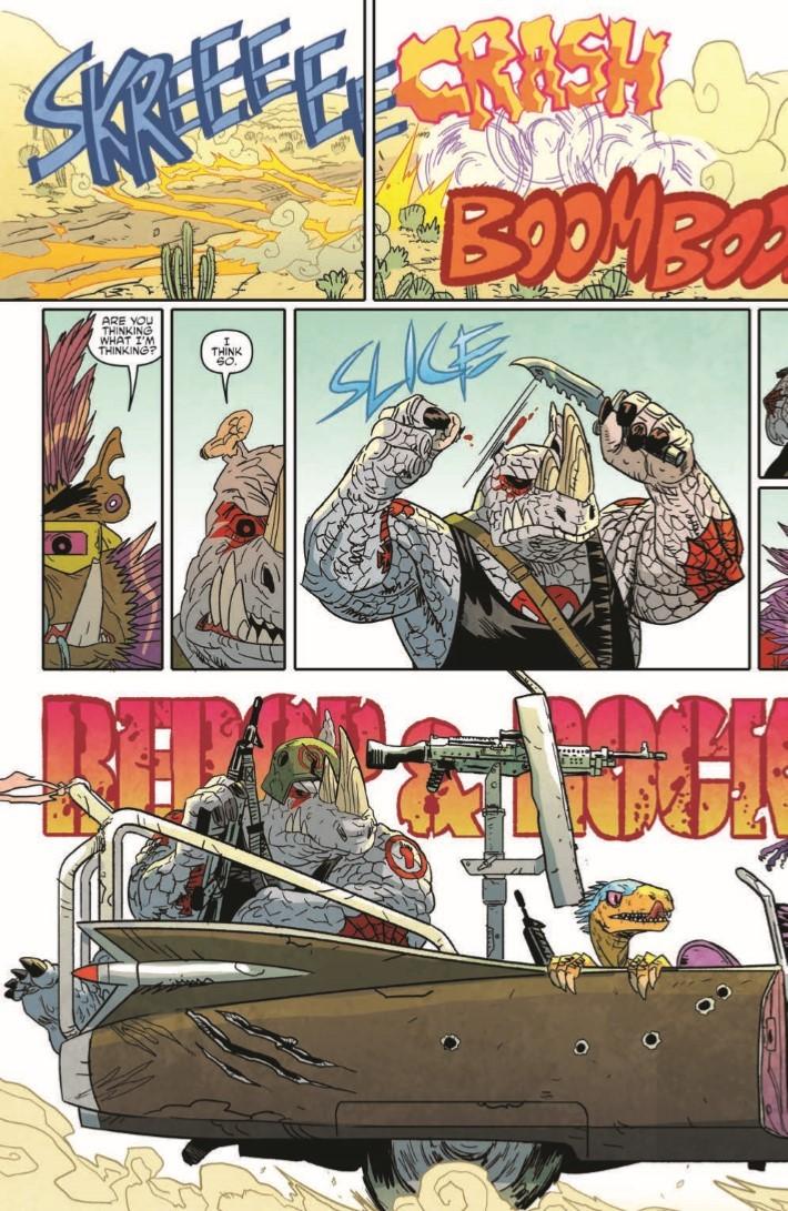 TMNT_Bebop_Rocksteady_Hit_The_Road-pr-5 ComicList Previews: TEENAGE MUTANT NINJA TURTLES BEBOP AND ROCKSTEADY HIT THE ROAD TP