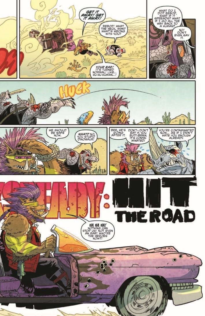 TMNT_Bebop_Rocksteady_Hit_The_Road-pr-6 ComicList Previews: TEENAGE MUTANT NINJA TURTLES BEBOP AND ROCKSTEADY HIT THE ROAD TP