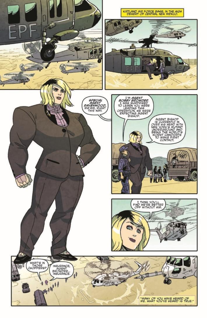 TMNT_Bebop_Rocksteady_Hit_The_Road-pr-7 ComicList Previews: TEENAGE MUTANT NINJA TURTLES BEBOP AND ROCKSTEADY HIT THE ROAD TP