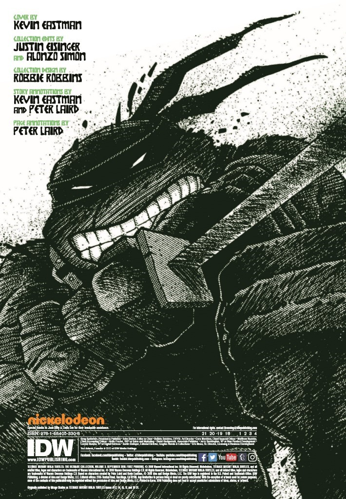 TMNT_Ultimate_Colection_Vol3_REPRINT-pr-2 ComicList Previews: TEENAGE MUTANT NINJA TURTLES THE ULTIMATE COLLECTION VOLUME 3 TP