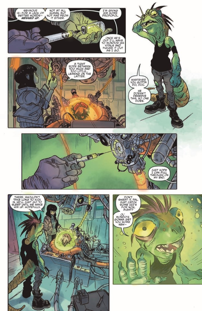 TMNT_Universe_23-pr-6 ComicList Previews: TEENAGE MUTANT NINJA TURTLES UNIVERSE #23