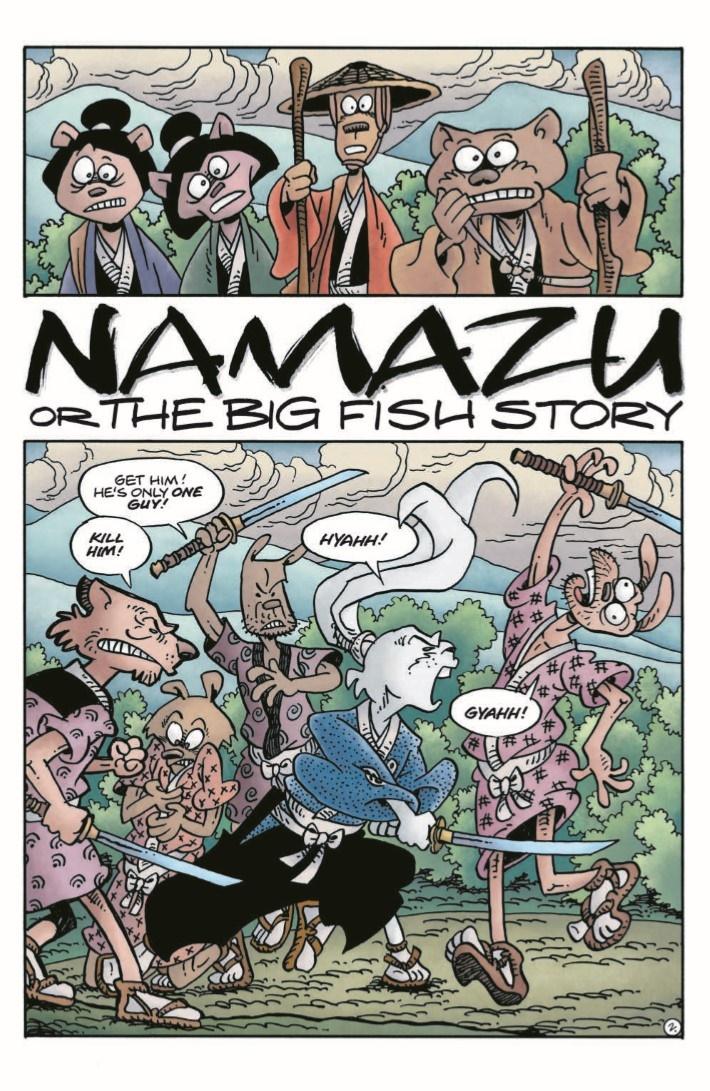 TMNT_Usagi_Expanded-pr-5 ComicList Previews: TEENAGE MUTANT NINJA TURTLES USAGI YOJIMBO HC (EXPANDED EDITION)