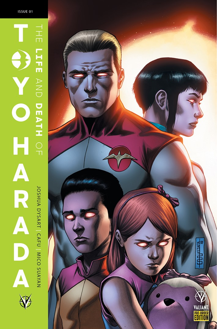 TOYO_001_VARIANT-PRE-ORDER_CAFU ComicList: Valiant Entertainment New Releases for 03/20/2019