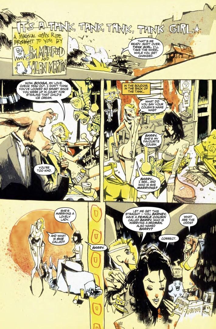 Tank_Girl_All_Stars_3_p1 ComicList Previews: TANK GIRL ALL STARS #3