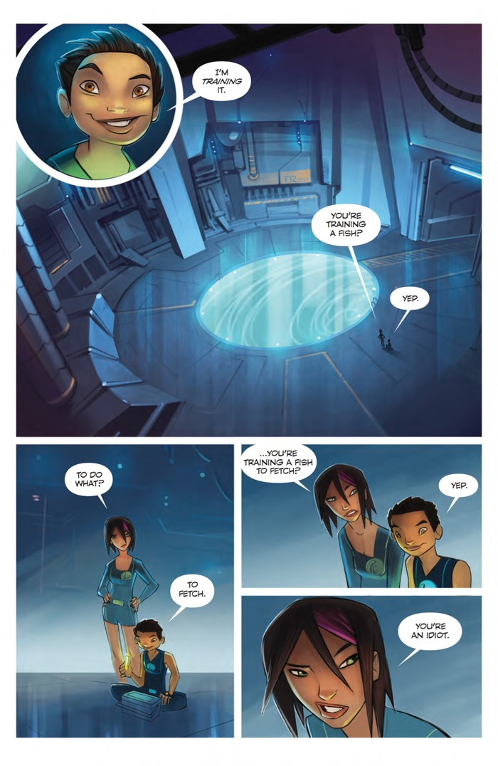 TheDeep_SC_PRESS_11 ComicList Previews: THE DEEP TP
