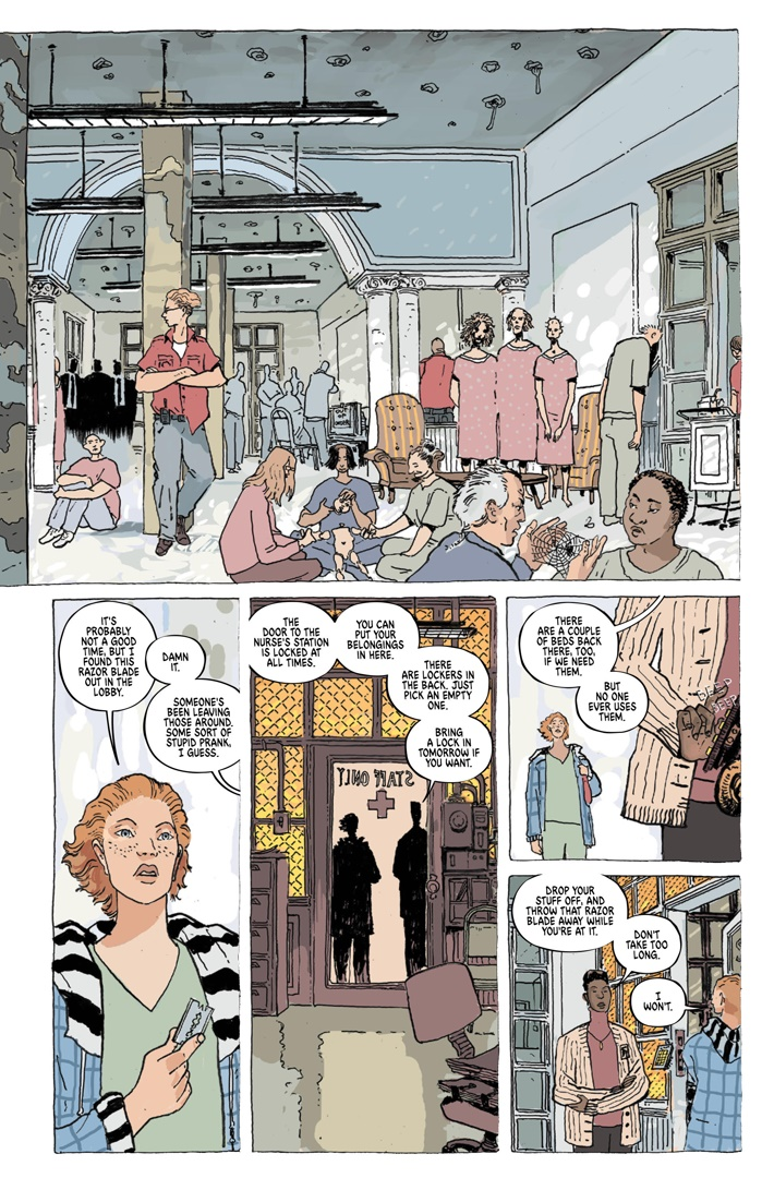 TheUnsound_SC_PRESS_15 ComicList Previews: THE UNSOUND GN