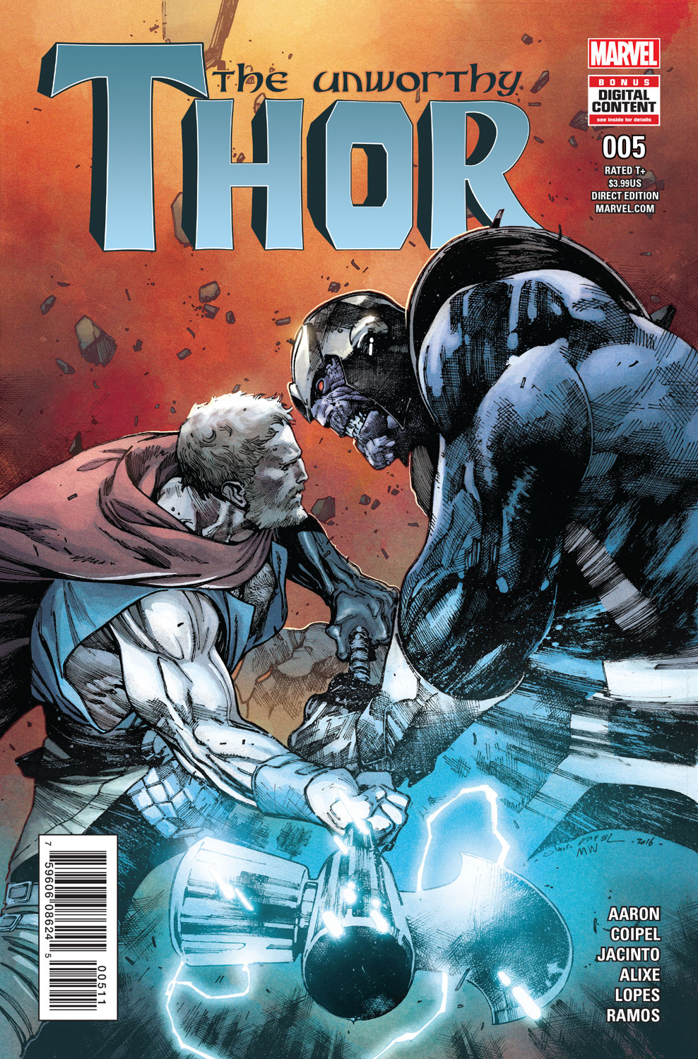 The_Unworthy_Thor_5_Cover ComicList Preview: THE UNWORTHY THOR #5