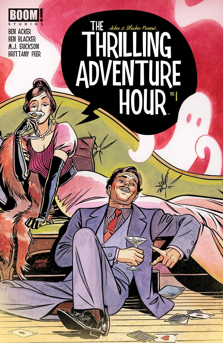 ThrillingAdventureHour_001_A_Main ComicList Previews: THE THRILLING ADVENTURE HOUR #1