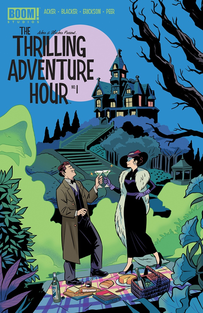 ThrillingAdventureHour_001_B_Subscription ComicList Previews: THE THRILLING ADVENTURE HOUR #1