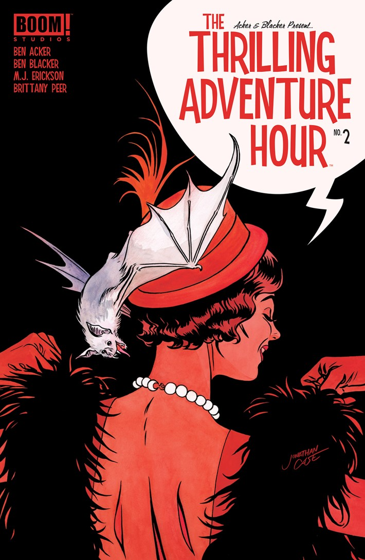 ThrillingAdventureHour_002_A_Main ComicList Previews: THE THRILLING ADVENTURE HOUR #2