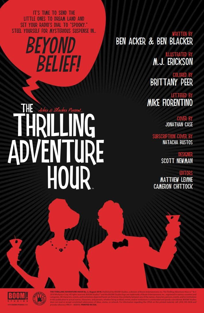 ThrillingAdventureHour_002_PRESS_2 ComicList Previews: THE THRILLING ADVENTURE HOUR #2
