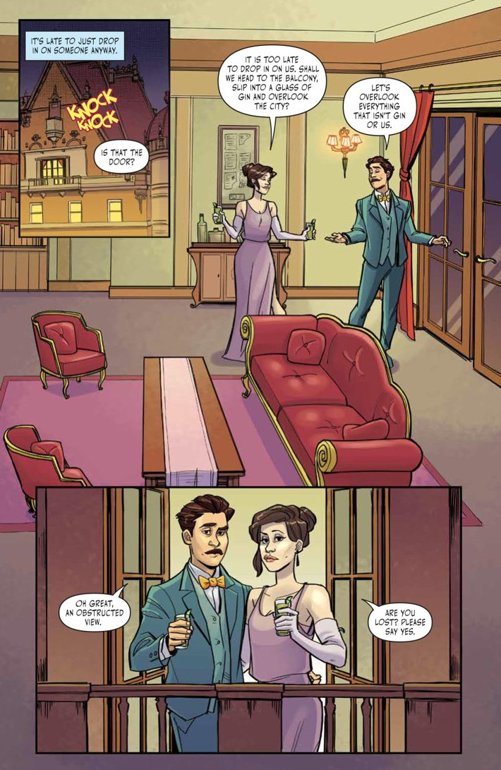 ThrillingAdventureTime_004_PRESS_6 ComicList Previews: THE THRILLING ADVENTURE HOUR #4