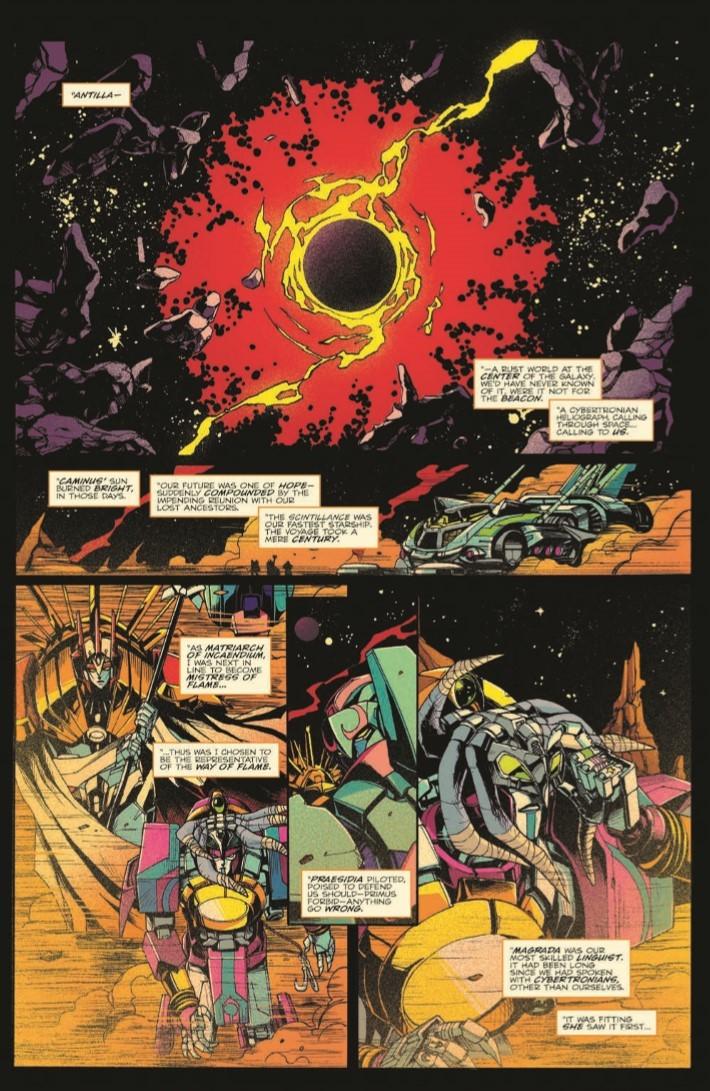 Transformers_Optimus_Prime_Vol04-pr-4 ComicList Previews: TRANSFORMERS OPTIMUS PRIME VOLUME 4 TP