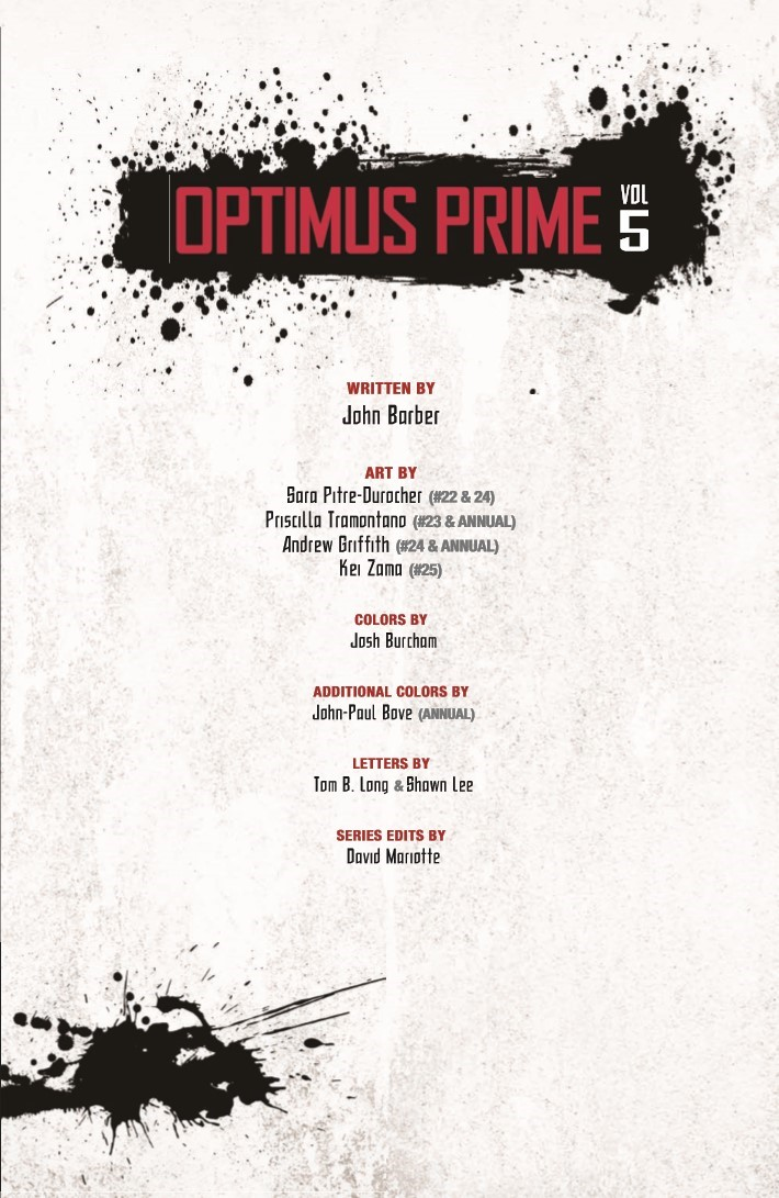 Transformers_Optimus_Prime_Vol05-pr-3 ComicList Previews: TRANSFORMERS OPTIMUS PRIME VOLUME 5 TP