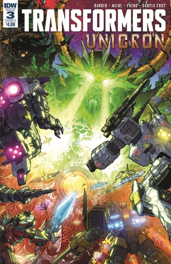 Transformers_Unicron_03-pr-1 ComicList Previews: TRANSFORMERS UNICRON #3