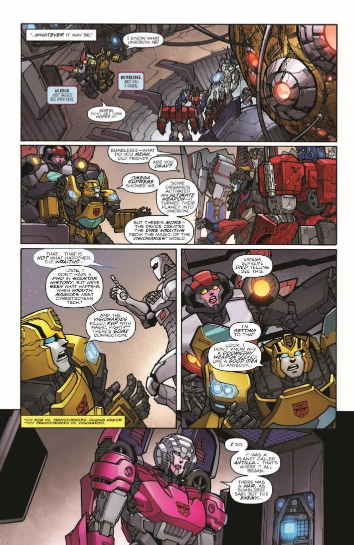 Transformers_Unicron_03-pr-7 ComicList Previews: TRANSFORMERS UNICRON #3