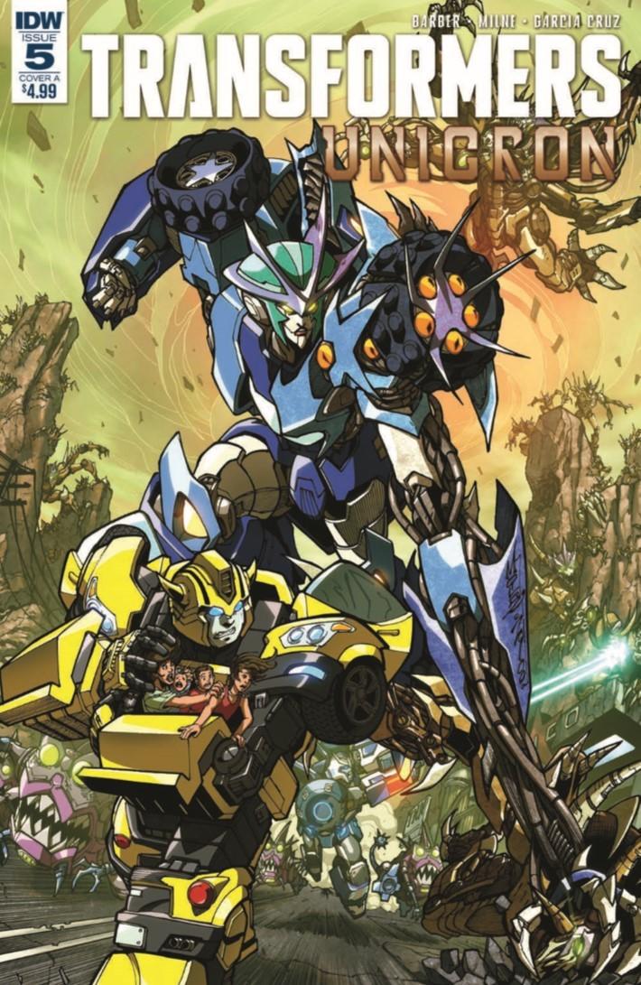 Transformers_Unicron_05-pr-1 ComicList Previews: TRANSFORMERS UNICRON #5