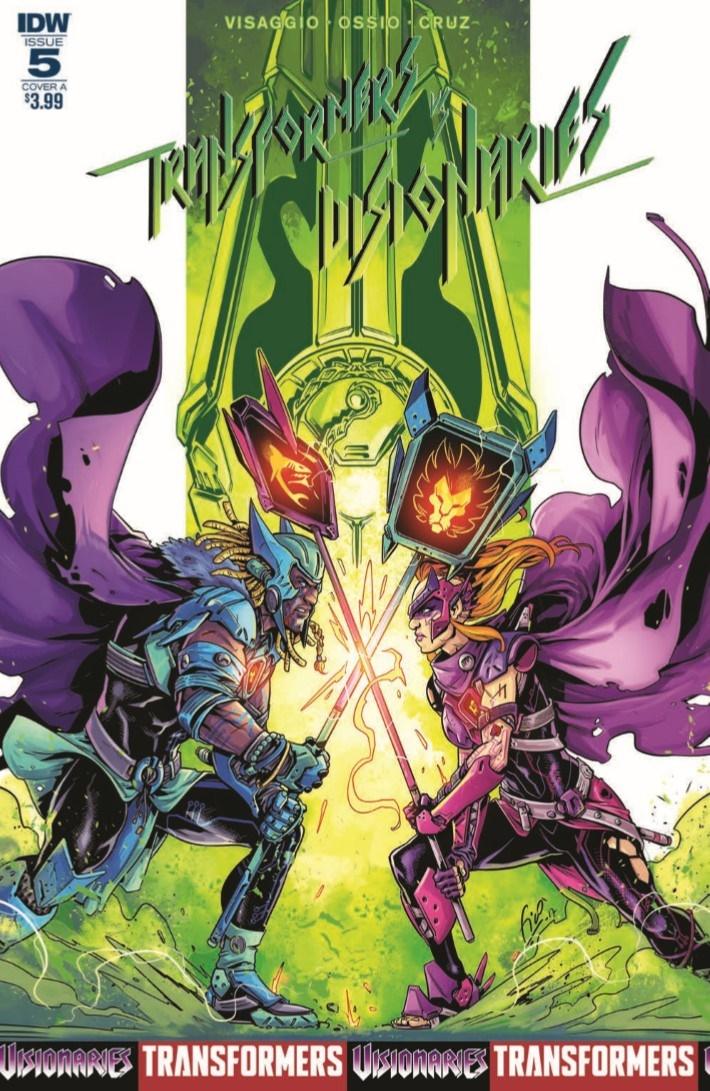 Transformers_v_Visionaries_05-pr-1 ComicList Previews: TRANSFORMERS VS VISIONARIES #5