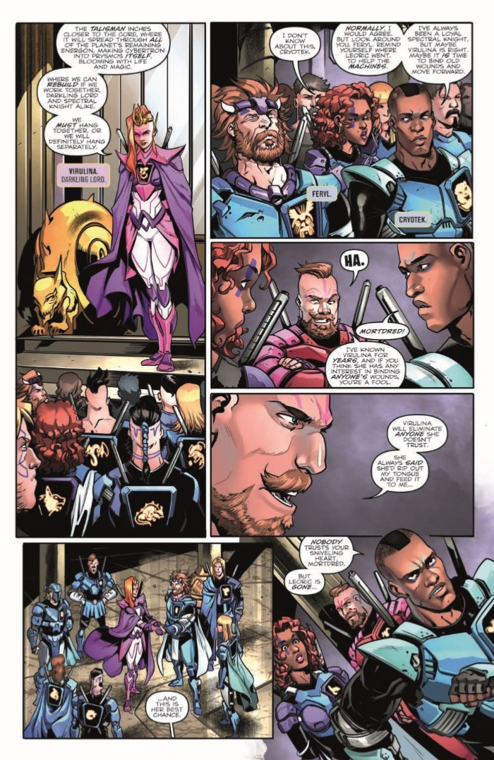 Transformers_vs_Vis_03-pr-4 ComicList Previews: TRANSFORMERS VS VISIONARIES #3