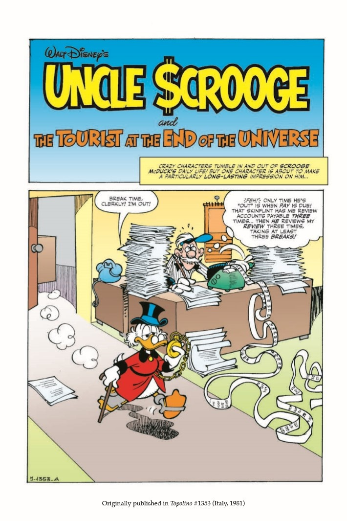 UncleScrooge_Tourist_at_end_of_Universe-pr-4 ComicList Previews: UNCLE SCROOGE THE TOURIST AT THE END OF THE UNIVERSE TP