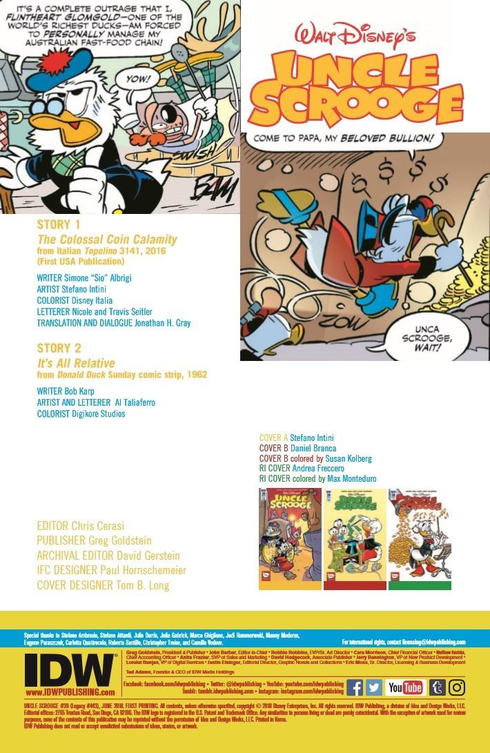 Uncle_Scrooge_39-pr-2 ComicList Previews: UNCLE SCROOGE #39