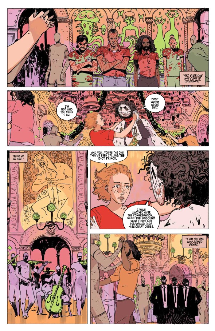 Unsound_006_PRESS_4 ComicList Previews: THE UNSOUND #6