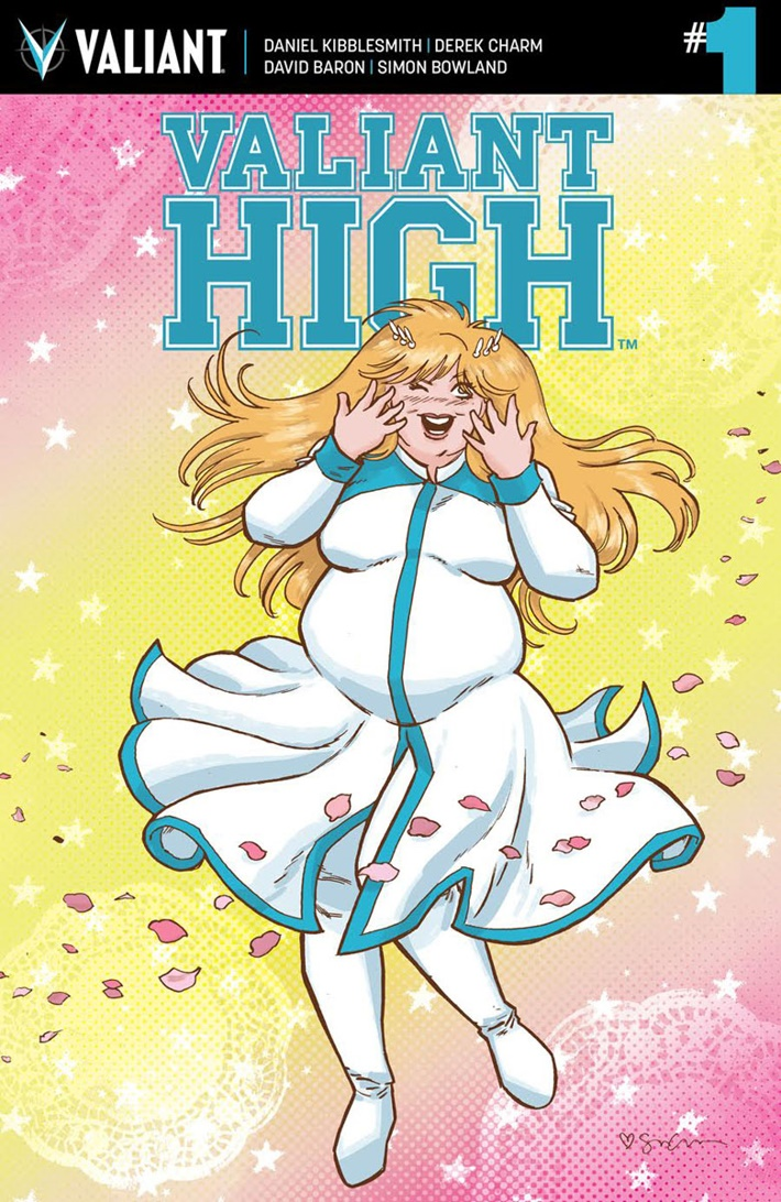 VALIANT-HIGH_001_VARIANT_GRACE ComicList Previews: VALIANT HIGH #1